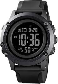 Men's Digital Sports Watch Large Face Waterproof ... - Amazon.com