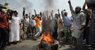 Two die in fresh Bangladesh protest violence over Modi's visit ...
