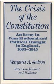 the crisis of the constitution an essay in constitutional and  the crisis of the constitution an essay in constitutional and political thought in england   margaret atwood judson  amazoncom