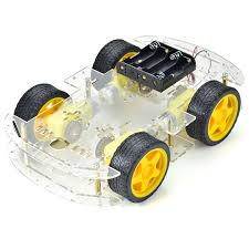 Arduino Compatible DIY Motor Smart Robot Car Chassis Kit 4 WD ...