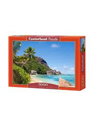 <b>Пазл</b> 3000 деталей С-300228.Пляж, Сейшелы Castorland ...