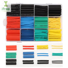<b>530pcs</b>/<b>Set</b> Heat <b>Shrink</b> Tubing Insulation Shrinkable Tube ...