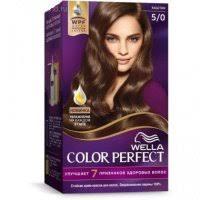 Купить <b>Крем</b>-<b>краска д</b>/<b>волос WELLA Color</b> Perfect 5/0 Каштан (404 ...