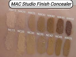 <b>MAC Studio Finish Concealer</b>; Review & Swatches of Shades ...