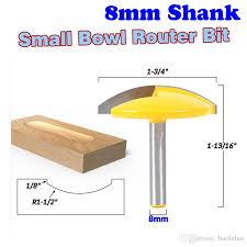 <b>1PC 8mm Shank Small</b> Bowl Router Bit