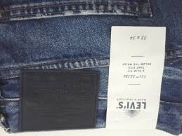 <b>LEVI'S 511 Slim</b> Japan Made & Crafted Destroyed Ripped Blue ...