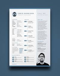 resume template ikono me a4 resume design