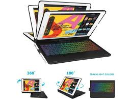 Keyboard Cases <b>360 Rotatable</b> iPad 7th Generation Case with ...