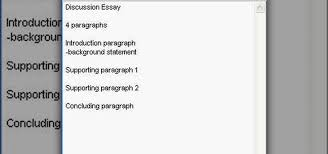 how to write a discussion essay outline  english language amp culture