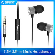 <b>ORICO In-ear Earphone</b> for <b>Headset</b> Metal Phone <b>Earphones</b> with ...