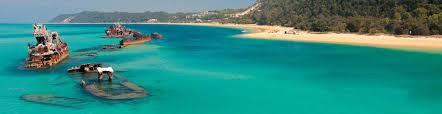 Image result for moreton island