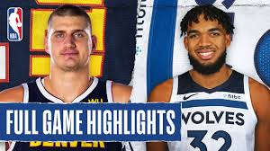 NUGGETS at TIMBERWOLVES | FULL GAME HIGHLIGHTS ...