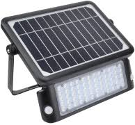 <b>Solar powered LED</b> floodlight with motion sensor – Floodlight ...
