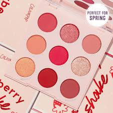 <b>Strawberry</b> Shake Pink Eyeshadow Palette   ColourPop