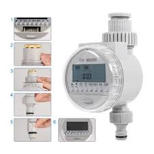 <b>Electronic Automatic LCD</b> Irrigation Water Timer Garden Sprinkler ...