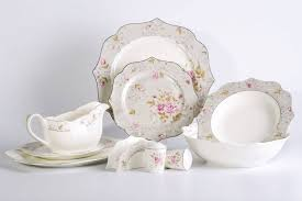 <b>Сервиз столовый Macbeth</b> Bone Porcelain Shining Flowers 6845-27