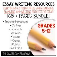 blog post essay writing tips and trick for students amp teachers  this bundle includes everything you need to teach your students how to write an effective essay
