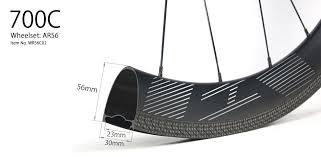 700C V-<b>shape</b> 56mm <b>depth</b> hand-built carbon road disc wheels ...
