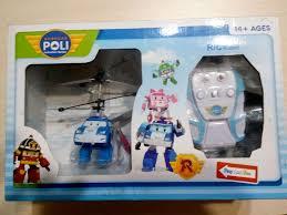 Продам <b>радиоуправляемый вертолет Robocar Poli</b> TL8018 Синий