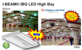featured products leff electric lithonia i beam® ibg led high bay