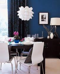 blue wall from unpretentious style blue walls brown furniture