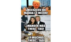 Funny Quotes About Donald Trump Mexicans. QuotesGram via Relatably.com