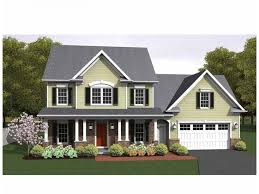 Colonial House Plan   Square Feet and Bedrooms from    Colonial House Plan   Square Feet and Bedrooms from Dream Home Source   House Plan Code DHSW