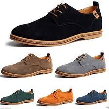 <b>New Mens</b> Casual/Dress Formal Oxfords <b>Flats Shoes</b> Genuine ...
