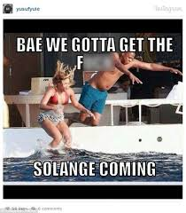 Solange and Jay Z memes sent internet into overdrive | Daily Mail ... via Relatably.com