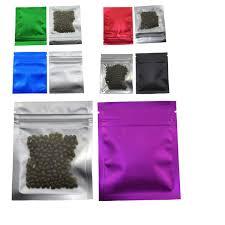 <b>100pcs</b>/<b>lot</b> 7.5*<b>10cm</b> Multi-<b>colored</b> Front Clear Plastic Food Package ...
