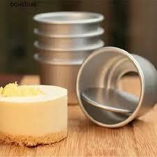 【COD】cchstore <b>5Pcs</b> 2.5<b>inch Round</b> Mini Cake Pan Removable ...