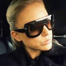<b>ROYAL GIRL Brand Designer</b> Oversized Sunglasses Women ...