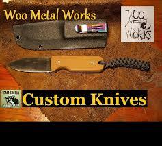 <b>Pocket Fixed Blade</b> Knife Woo Metal Works - YouTube