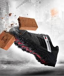 2019 <b>Modyf Mens Steel Toe</b> Cap Work Safety Shoe Genuine ...