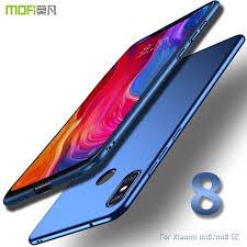 For Xiaomi mi8 case cover <b>MOFI Xiaomi Mi 8</b> SE Hard PC Back ...