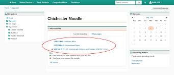 induction checklist support and information zone log on to moodle making sure you see all course modules on which you are enrolled