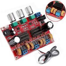DC12-24V <b>TPA3116D2 2.1 Channel Digital</b> Subwoofer Power ...