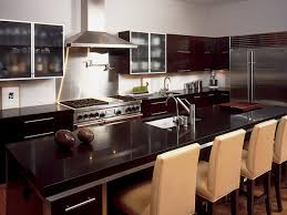 Granite Kitchen Counter Top Dark Granite Countertops Hgtv