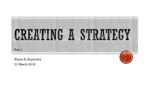 Resultado de imagen para a strategy for creating