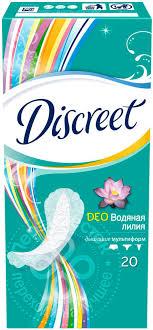 <b>Прокладки Discreet</b> Deo Water Lily Multiform <b>ежедневные 20шт</b>