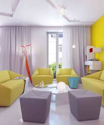 5 bright coloured furniture