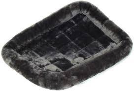 <b>MidWest лежанка Pet</b> Bed меховая 56х33 см серая