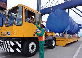 Resultado de imagen para fotos tractocamiones en puertos marítimos
