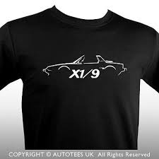 autotees car <b>t</b>-<b>shirt</b> for <b>fiat</b> x1/9 bertone classic car enthusiasts