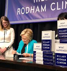 「what happened by hillary rodham clinton」の画像検索結果