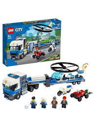 <b>Конструктор LEGO City</b> Police 60244 <b>Полицейский</b> вертолётный ...
