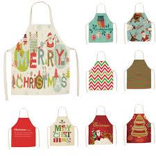 <b>Christmas</b> Cooking Dinner <b>Party</b> BBQ Printed <b>Apron</b> Bib <b>Xmas</b> ...