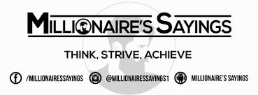 Millionaire's Sayings - Home   Facebook