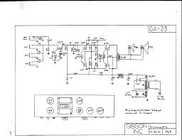 schematics gibson ga 25