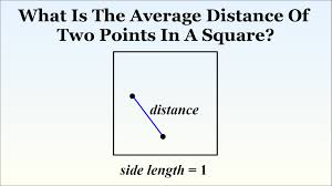 very hard puzzle what is the distance between two random points very hard puzzle what is the distance between two random points in a square